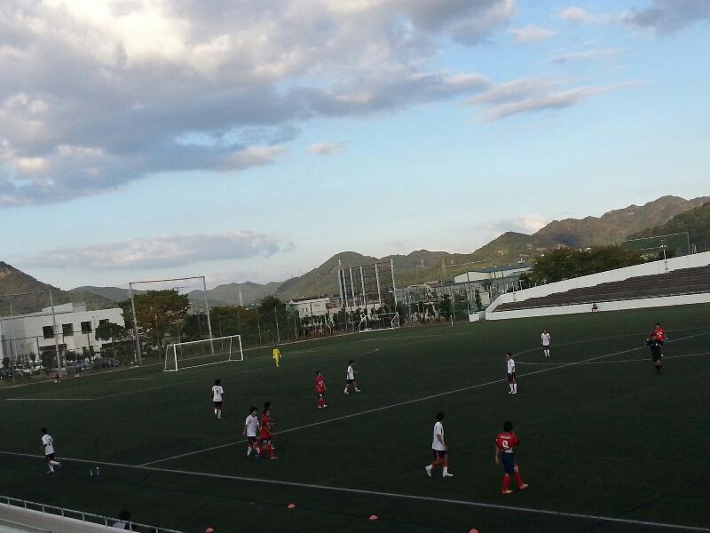 サッカーな1日@ 姫路市立球技スポーツセンターメイン
